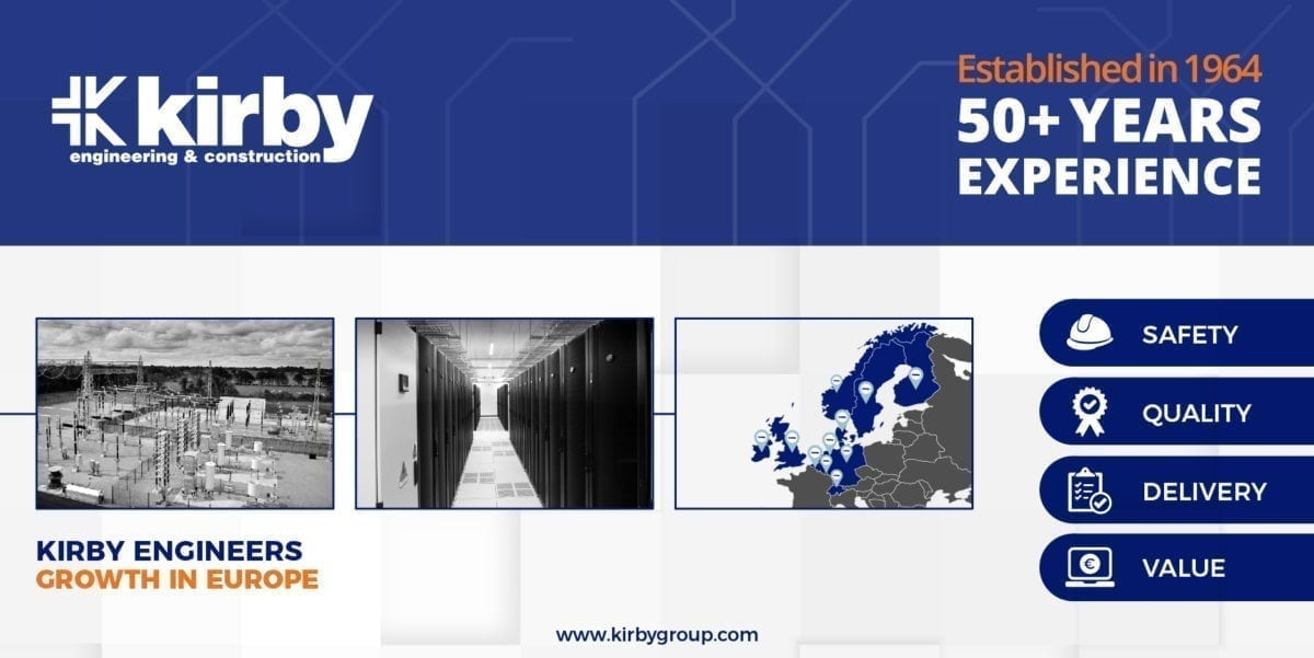 How Kirby Group Engineering powers value for clients across Europe